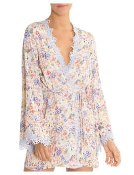 Floral Short Robe by In Bloom By Jonquil