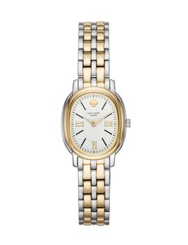 Gold Plated Staten Two Tone Watch by Kate Spade New York