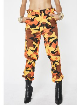Wish You Would Camo Pants by Hot Delicious