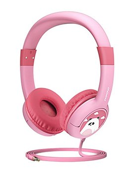 Mpow Kids Headphones With 85d B Volume Limited Hearing Protection & Music Sharing Function, Kids Friendly Safe Food Grade Material, Tangle Free Cord, Wired On Ear Headphones For Children Toddler Baby by Mpow