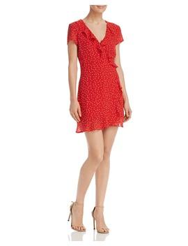 Open Back Polka Dot Dress  by Bardot