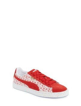 X Hello Kitty Suede Classic Sneaker by Puma