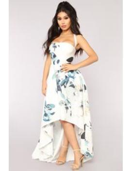Take A Chance Dress   White by Fashion Nova
