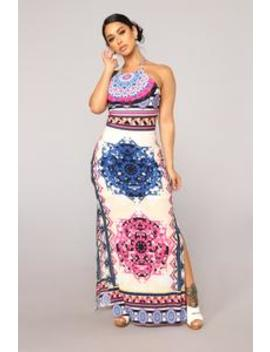Pool Side Chillen Dress   Taupe by Fashion Nova