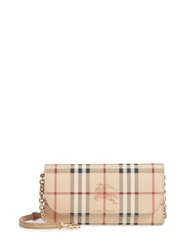 Henley Haymarket Wallet On A Chain by Burberry