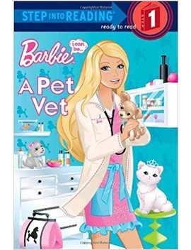 Barbie, I Can Be  A Pet Vet (Step Into Reading, Step 1) by Mary Man Kong