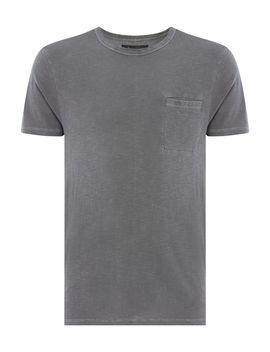 Ripley Slub Crew Neck T Shirt by Label Lab