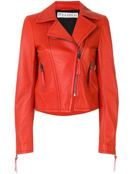 Cropped Biker Jacket by Jw Anderson