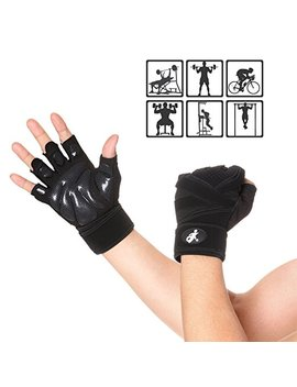 Do Smart Unisex Workout Gloves, Anti Skid, Wear Resistant, Breathable, Suitable For Fitness, Gym, Weight Lifting, Pull Up, Cross Training, Exercise And Outdoor Sports. (S) by Amazon