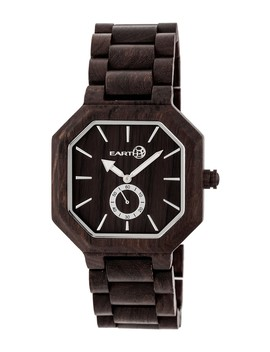 Men's Acadia Bracelet Watch, 43mm by Earth Wood