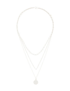 Three Layered Miro Necklace by Petite Grand