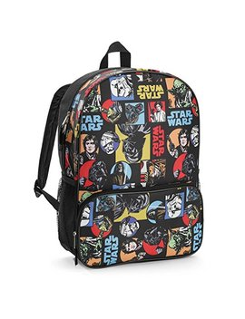 Disney Star Wars Classic All Over Print Kids Backpack 16 by Accessory Innovations