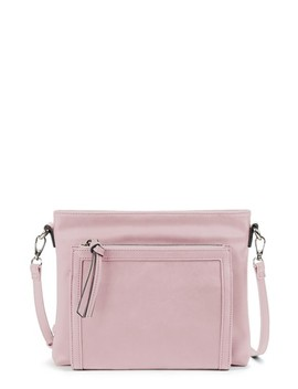 Flat Faux Leather Crossbody Bag by Sole Society