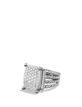 'wheaton' Ring With Diamonds by David Yurman