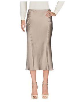 Alberta Ferretti 3/4 Length Skirt   Skirts D by Alberta Ferretti