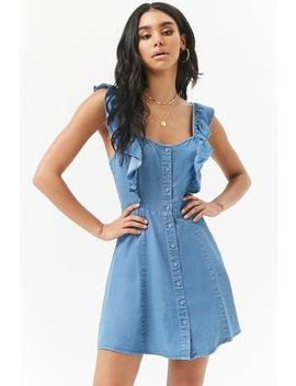 Robe Courte En Chambray by F21 Contemporary