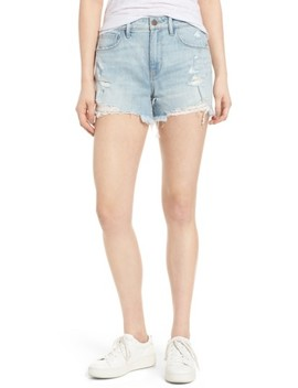High Waist Boyfriend Cutoff Shorts by Treasure & Bond