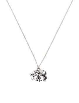 Elephant Pendant Necklace by Forever 21