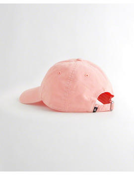 Embroidered Logo Dad Hat by Hollister
