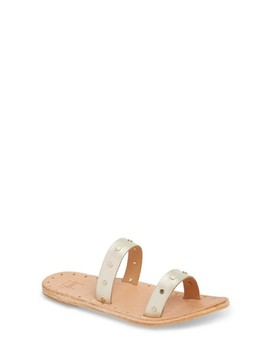 Woodpecker Studded Slide Sandal by Beek