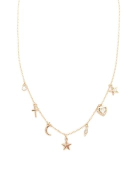 Cosmic Charm Necklace by Forever 21