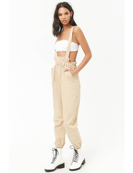 Oversized Suspender Pants by Forever 21
