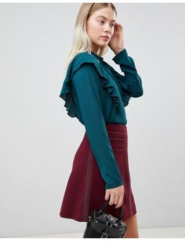 Jdy Ditte Frill Side Blouse by Jdy