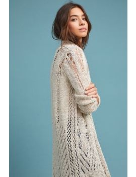 Abbott Crocheted Cardigan by Moth