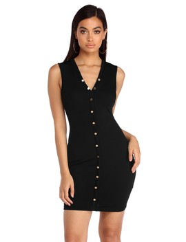 Loosen Up Button Up Dress by Windsor