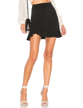 Milan Ruffle Mini Skirt by By The Way.