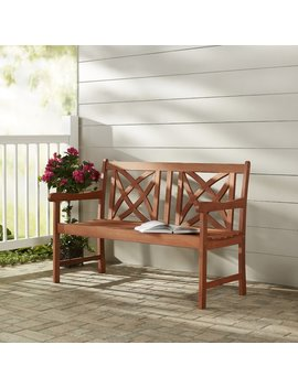 Charlton Home Blakeslee Wood Garden Bench & Reviews by Charlton Home