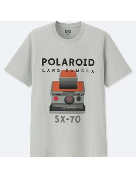 The Brands Short Sleeve Graphic T Shirt (Polaroid) by Uniqlo