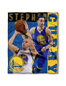 Nba 575 Warriors Stephen Curry Silk Touch Throw by The Northwest Co