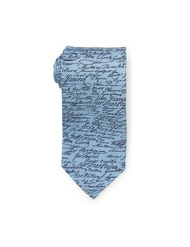 Declaration Of Independence Tie by Josh Bach