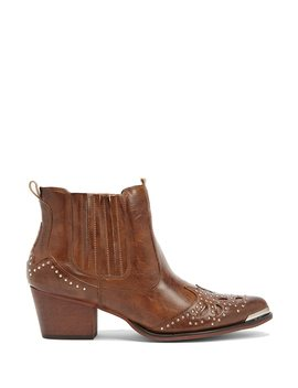 Wanted Studded Ankle Boots by Forever 21