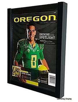 Magazine Display Case Magazine Display Frame For Standard Sized Magazines by Game Day Display