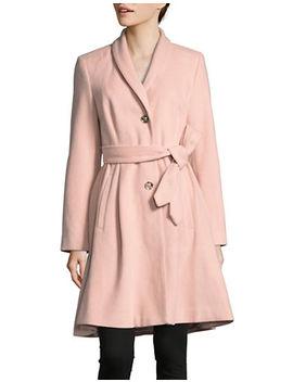Shawl Collar Robe Coat by Ivanka Trump