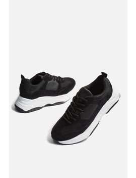 Ciara Monochrome Chunky Trainers by Topshop