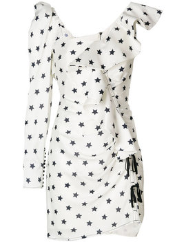 Star Print Dress by Self Portrait