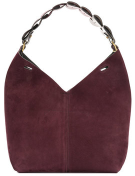 Heart Strap Bucket Tote by Anya Hindmarch
