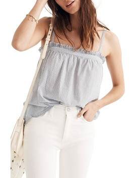 Stripe Tie Strap Camisole by Madewell