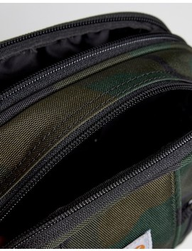 Carhartt Wip Essentials Flight Bag In Camo by Carhartt Wip