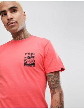 Vans Dubarry T Shirt With Back Print In Pink Va3 Heveiy by Vans