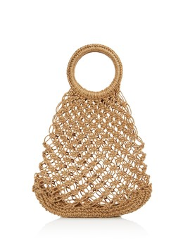 Alfonsito Woven Tote  by Elizabeth And James