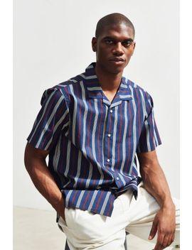 Katin Jesse Vertical Stripe Short Sleeve Button Down Shirt by Katin