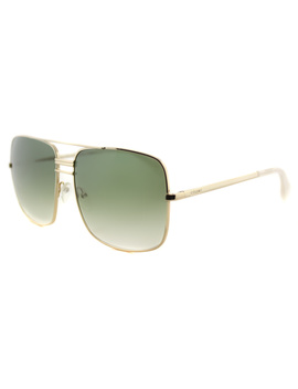 Aviator Metal Sunglasses by Celine