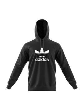 Trefoil Warm Up Cotton Hoodie by Adidas Originals