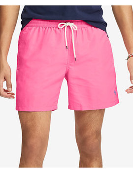 "Men's 5 3/4"" Traveler Swim Trunks by Polo Ralph Lauren"