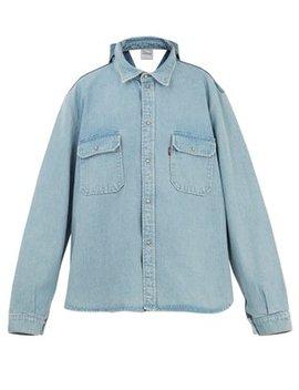 X Levi's Double Back Reworked Denim Jacket by Vetements