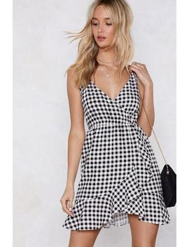 It's A Picnic Gingham Dress by Nasty Gal
